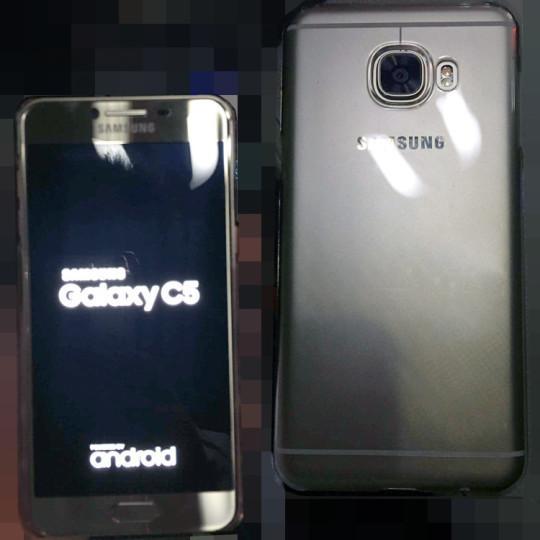 انتشار اولین تصاویر از تلفن هوشمند گلکسی C5 سامسونگ