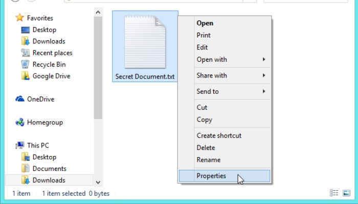 آموزش مخفی کردن فایل ها و پوشه ها در ویندوز 10