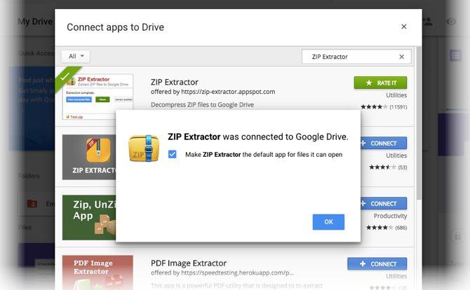 آموزش خارج کردن فایل ها از حالت زیپ بدون نیاز به دانلود در گوگل درایو