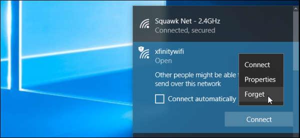 چگونه نام شبکه های وایرلس ذخیره شده ویندوز 10 را حذف کنیم
