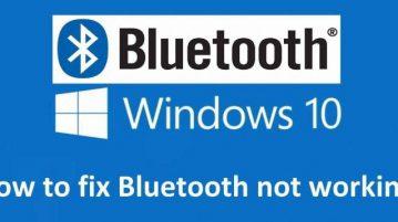 آموزش رفع مشکل Bluetooth در ویندوز 10
