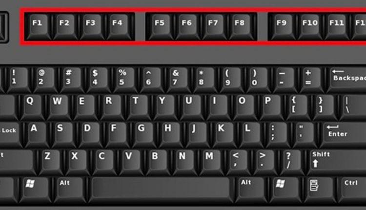 با کارایی کلیدهای F کیبورد را بیشتر آشنا شوید