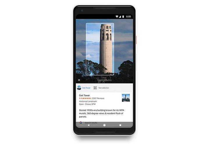 معرفی برنامه هوش مصنوعی گوگل لنز